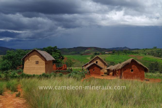 Prospection dans la région d'Antsirabe dans les villages reculés
