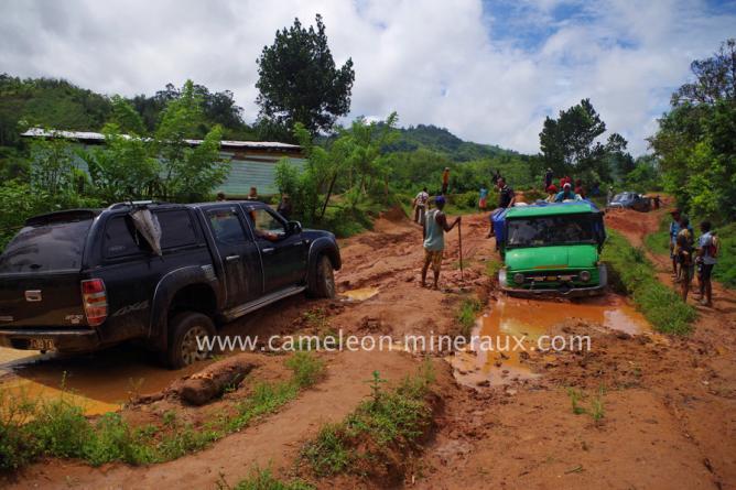 Mais pistes sont pires qu'à Antsirabe
