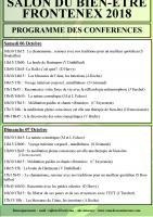 Programme conferences 2020